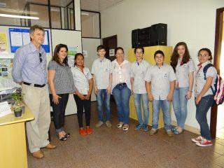 Vereadores Mirins visitam Secretaria de Assistência Social
