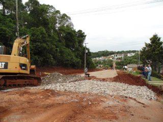 Prefeita acompanha de perto Obras na Infraestrutura do Município