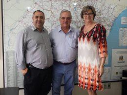 Prefeita Teodora reforça melhorias junto a Secretaria Estadual dos Transportes