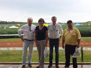 Prefeita Teodora Lütkemeyer prestigia Dia de Campo da Empresa E. Orlando Roos