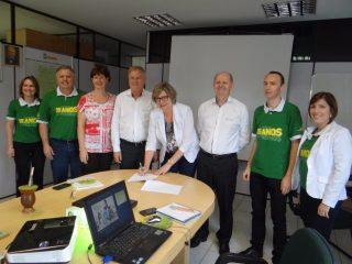 Administração Municipal e Sicredi renovam parceria do Programa a União Faz a Vida