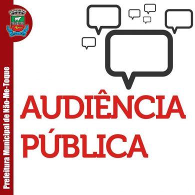 Audiência Pública do Conselho de Saúde