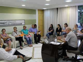 Reunião com a 39ª Coordenadoria Estadual de Educação trata sobre regularização do Solano
