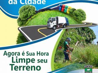 Terrenos Baldios: Faça sua parte para uma cidade limpa e organizada