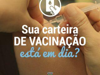 Sala de Vacinas realizará atendimento na UBS Santo Antônio