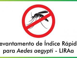 Secretaria de Saúde vai mapear infestações do Aedes Aegypti