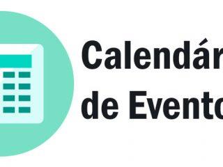 Entidades já podem reservar datas no Calendário de Eventos 2018