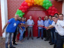 Quadra de esportes do Bairro Santo Antônio entregue a comunidade