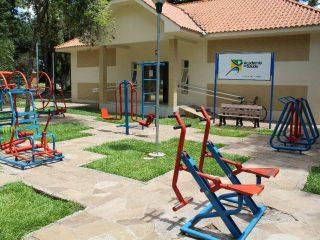Desfrute das atividades da Academia de Saúde e cuide de você