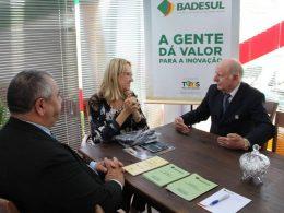 Administração visita instituições de Crédito durante a Expodireto