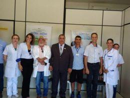 Secretaria de Saúde monta ambulatório para atender visitantes da Expodireto