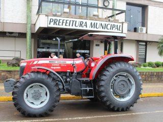 Patrulha Agrícola recebe novo Trator