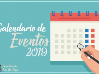 Entidades já podem reservar datas no Calendário de Eventos 2019