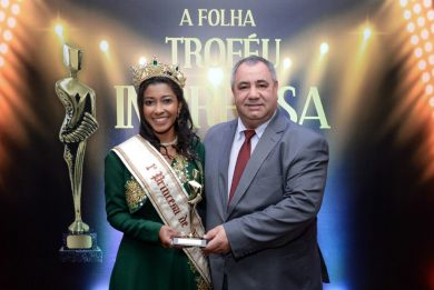Prefeito Pedro Paulo recebe o Troféu Imprensa A Folha