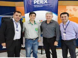 Secretário Jair Kilpp participa do Lançamento do Peiex