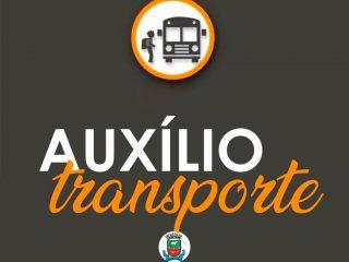 Estudantes beneficiados com o Auxílio Transporte, ATENÇÃO!