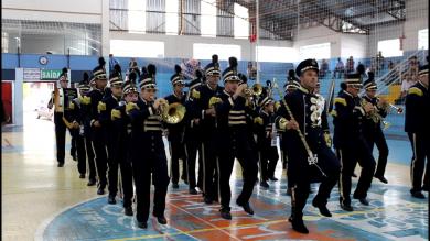 Não-Me-Toque realiza 15º Festival de Bandas Marciais