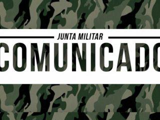 Comunicado da Junta de Serviço Militar