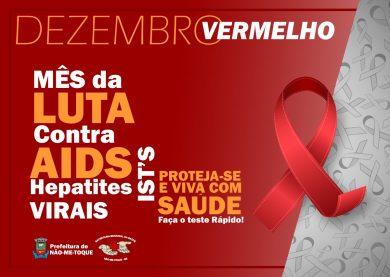 Dezembro, o mês da Luta contra a Aids