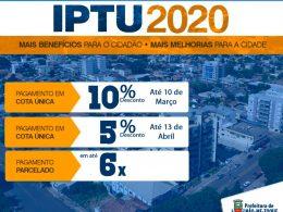 Horário estendido para retirada do IPTU