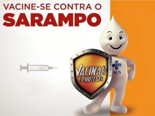 Nova campanha de vacinação contra o sarampo começa em 10 de fevereiro