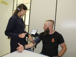 Ambulatório da Saúde atende 143 pessoas na 21º Expodireto Cotrijal