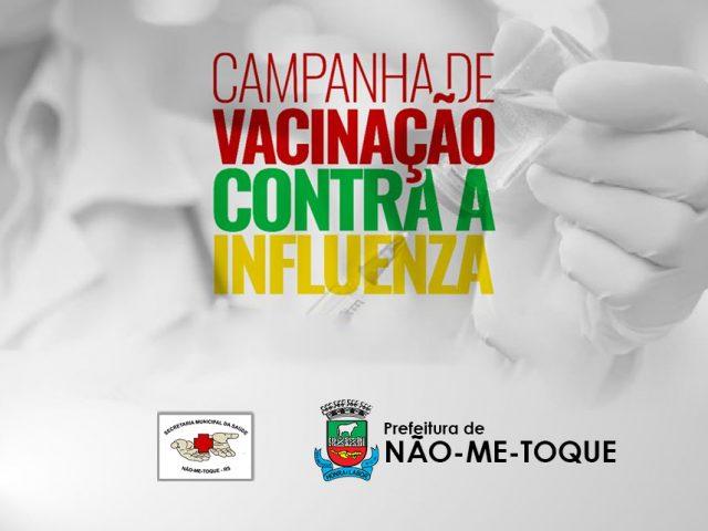 Vacinação contra influenza prorrogada até 30 de Junho