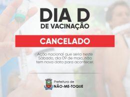 """Dia """"D"""" da campanha da Influenza é cancelado"""