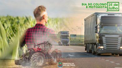 25 de Julho – Dia do Colono e Motorista