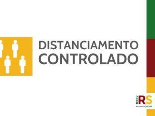 Governo do RS altera regras do distanciamento controlado e deixa bandeira vermelha mais branda