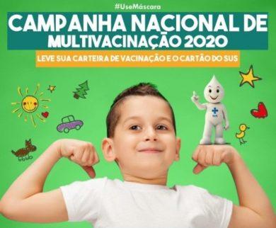 Campanha Nacional de Vacinação contra a Poliomielite e de Multivacinação