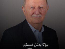 Nota de Pesar pelo falecimento do Ex-Prefeito Armando Carlos Roos
