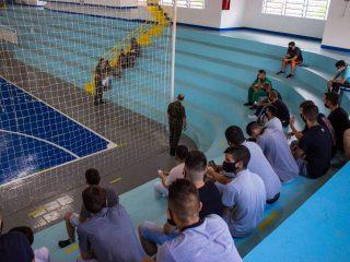 Em última inspeção, 14 jovens foram selecionados para o Serviço Militar Obrigatório no 3º GACAP