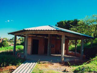 Acompanhamento das Obras e Serviços – Quiosque próximo a Escola Solano