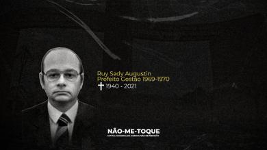 Não-Me-Toque decreta luto oficial pelo falecimento do Ex-Prefeito Ruy Sady Augustin
