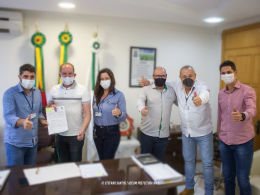 Não-Me-Toque firma convênio com Hospital de Caridade de Carazinho para o enfrentamento da pandemia