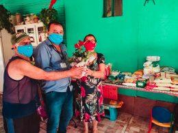 Munícipe realiza aniversário solidário diferente e arrecada 78kg de alimento para doação
