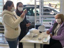 Chamada pra vacinação contra COVID-19 para comunidade geral de 53 anos ou mais
