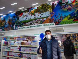 Prefeito e Secretários prestigiam a inauguração da nova Farmácia São João em Não-Me-Toque