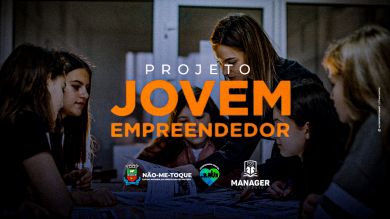 Jovem Empreendedor, Executivo inicia o projeto que transformará o futuro de dezenas de alunos da Rede Municipal de Ensino