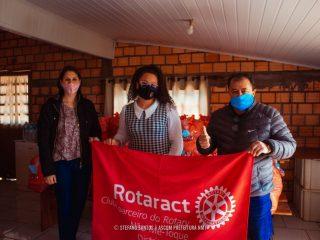 Assistência Social recebe 70 cestas básicas do Roratact e Interact